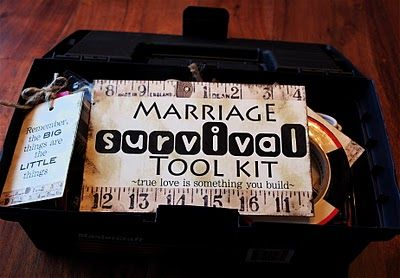 Marriage survival tool kit. Lots of fun things on this site