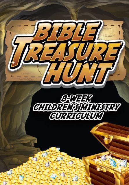 Bible Treasure Hunt 8-Week Children's Ministry Curriculum