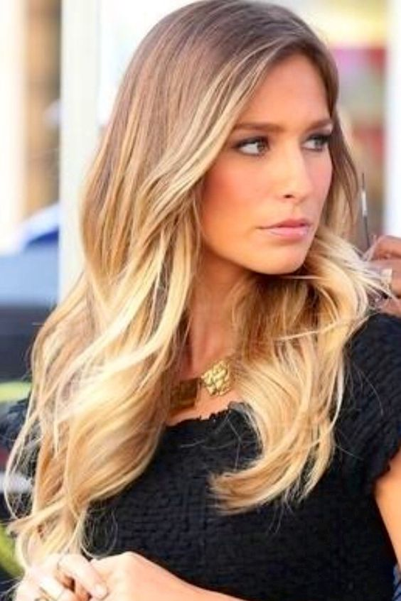 Blonde ombre hair pinterest balayage sommerhaar und for Ombre hair haarfarbe