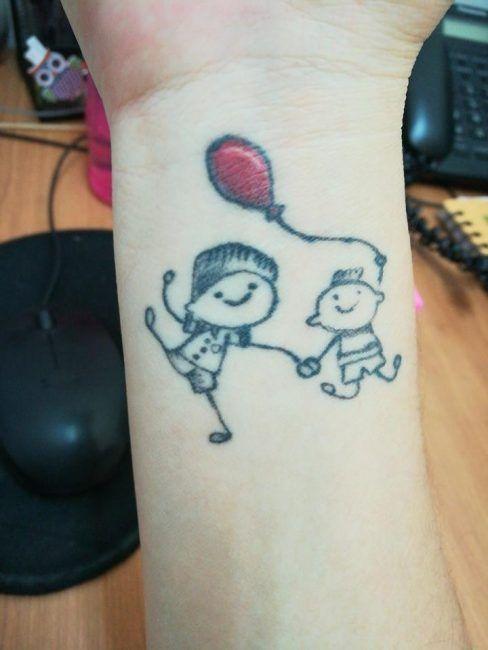Tatuajes En Honor A Hijos