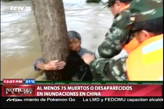 Inundación Provoca Desastre Y Al Menos 75 Muertos O Desaparecidos En China