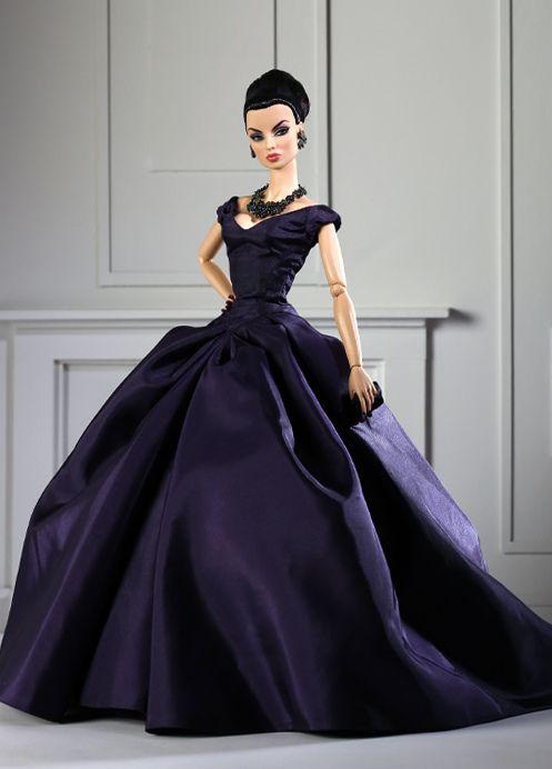 Jason Wu Doll designs - violet