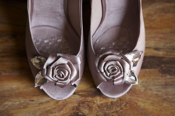 Dusky Pink Wedding Shoes and Inspiration #Wedding #WeddingShoes