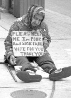 homeless vote