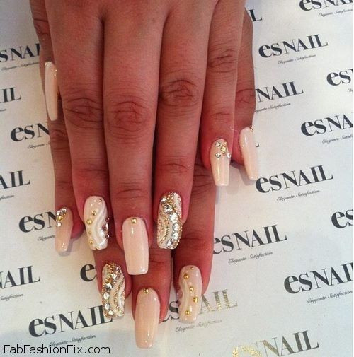 Beauty: Nude Nails Trend for Spring 2013