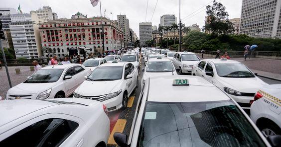 Nº de taxistas candidatos a vereador em SP sobe 171% em relação a 2012