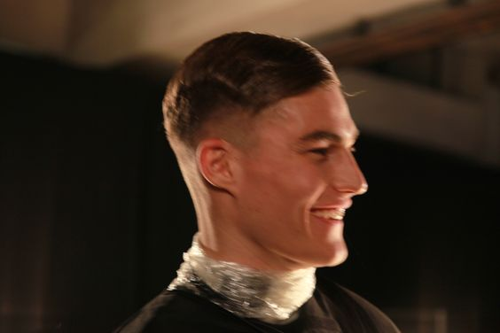 James Long London Collections Men: AW14 show. Hair styled by John Vial for Fudge. Photography by Lorenzo Dalbosco.