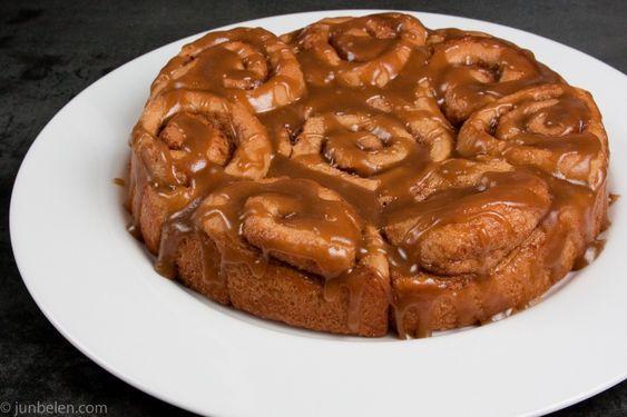 Cinnamon Rolls - Anadama Bread - Recipe by Donalyn Ketchum, makes 16 rolls