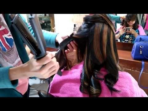 Tutorial Catok Curly Menggunakan Catok Flat Cara Nyatok Curly Awet Sampai 2 Minggu Youtube Salon Kecantikan Pengawetan Kecantikan