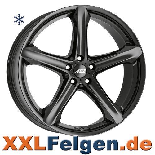 AEZ Yacht Alufelgen in schwarz  wheels rims