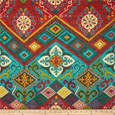 Resultado de imagem para blue green paisley fabric