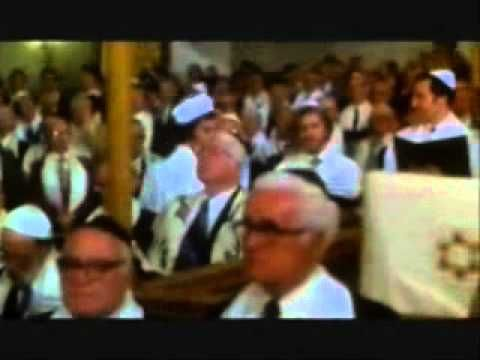 In the movie The Jazz Singer, Neil Diamond sings the Kol Nidre, the holiest Jewish prayer/song recited several times on Yom Kippur, the Day of Atonement.