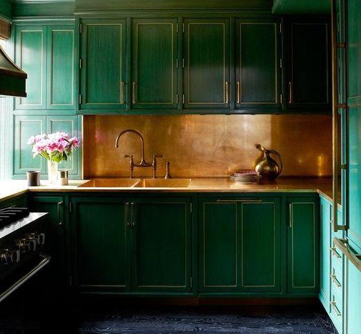 カッパー コッパー 銅 キッチン コーディネート例 エキゾチック