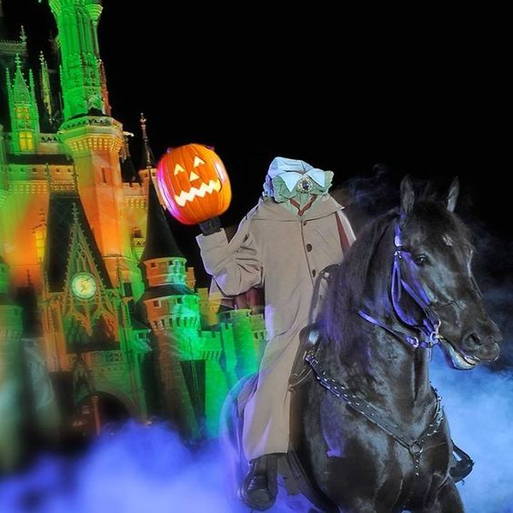 Mickeys not so scary Halloween party! So fun headless horsemen
