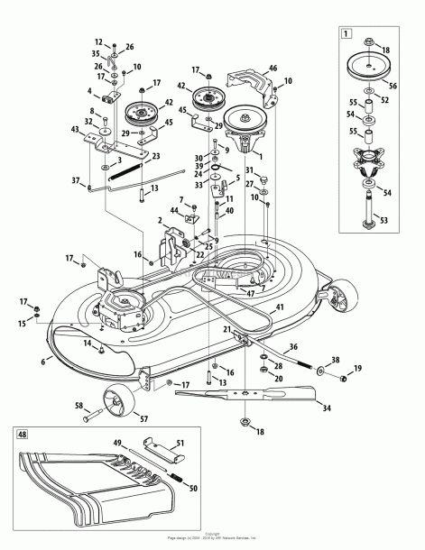 44+ Yard machine 46 inch riding mower belt diagram ideas