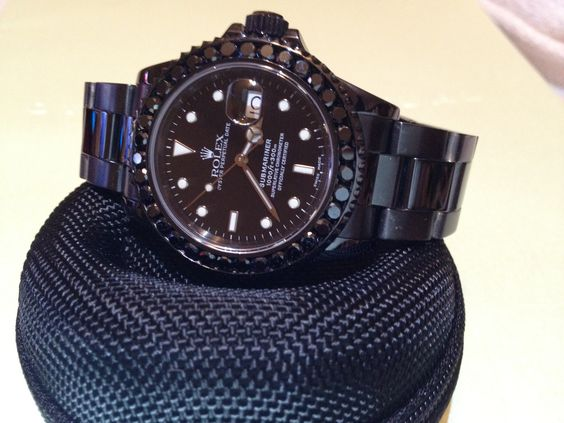 Blacked Out Rolex