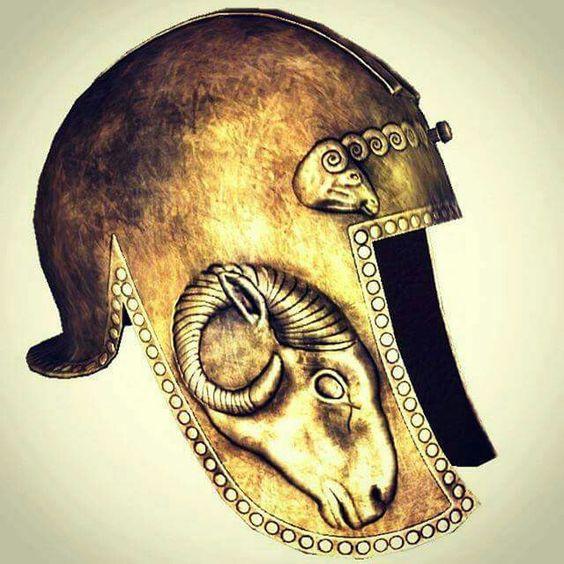 Dardanian helmet