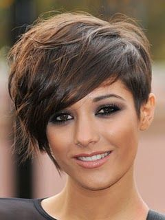 "Love this pixie cut! I need a vote, would this be cute on me? My hair will be donated to ""Locks of Love"" when I cut it for Casey's wedding. I like this hairdo. What you all think?"