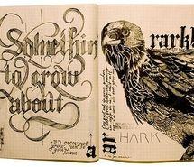 Calligrafia de Crow