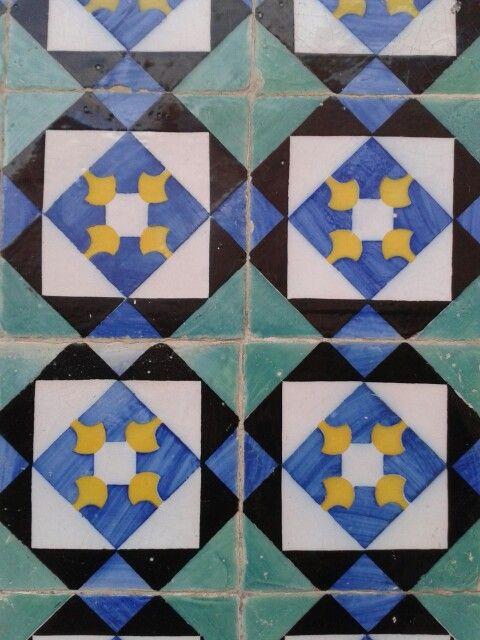 Tiles in Caldas da Rainha - Portugal