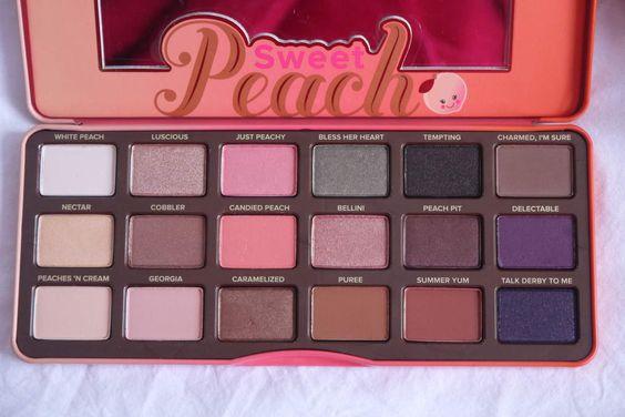 Sweet Peach, La palette de l'été