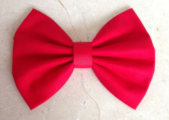 Clip Art Bow Clip red hair bow clip big large adult clips fabric bow