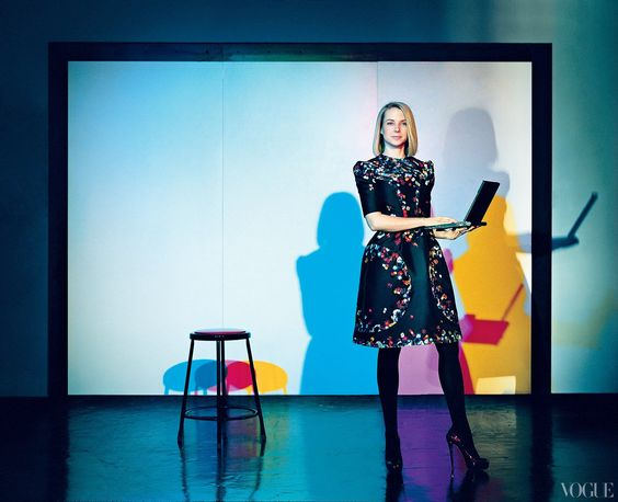 From the Archives: Google's Marissa Mayer in Vogue