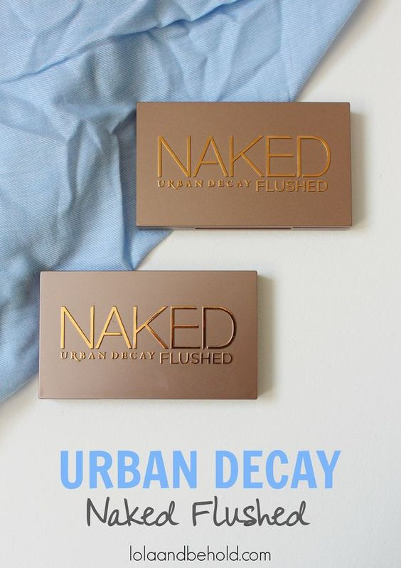 Urban Decay Naked Flushed Palettes