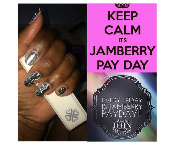 Happy Friday!  Want to own your own business?  Let's talk!  Shop at:  desireewatkins.jamberrynails.com