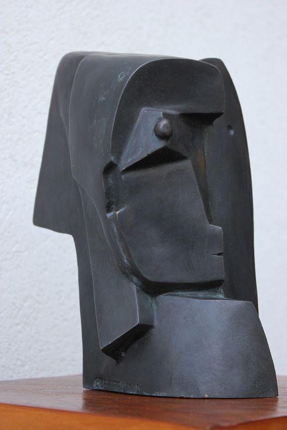Otto Gutfreund – Head #sculpture #Czechia #CzechArt #art