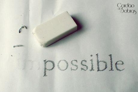 Eu acredito num Deus do Possível! Existe esperança! Há possibilidades! Creia! E Jesus disse-lhe: Se tu podes crer, tudo é possível ao que crê. (Marcos 9:23)