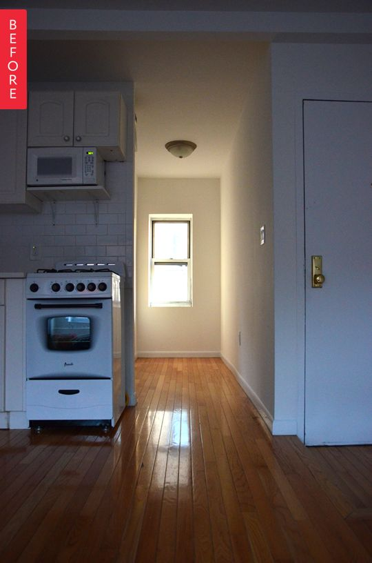 Before & After: A Closetless Apartment Dilemma, Solved | Apartment Therapy