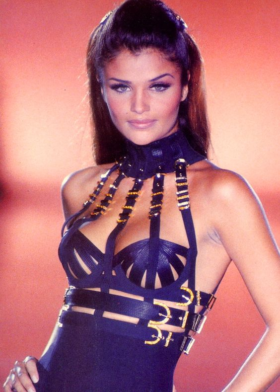 Helena Christensen @ Versace F/W 1992? The height of my Gianni Versace obsession, which consisted of two one hundred and fifty dollar books at 16 yo, and every clipping and ad I could find.