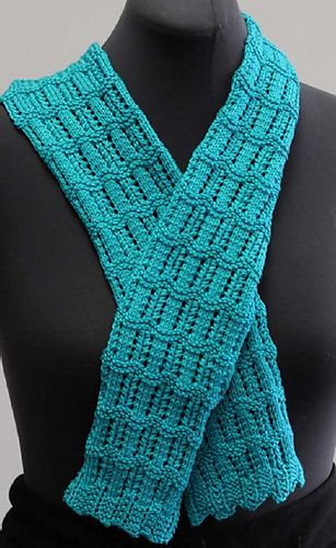 Knitting Summer Scarves : Summer scarf dk by melissa leapman free knitting