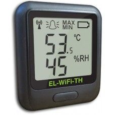 The EL-WiFi-TH sensor measures the temperature and humidity of the environment in which it is situated. Data is transmitted wirelessly via a WiFi network to a PC and viewed using a free software package. During configuration the sensor will search for an existing wireless network whilst physically connected to the PC. It can then be placed anywhere within range of the network. If the sensor temporarily loses connectivity with the network, it will log readings until it is able to communicate…