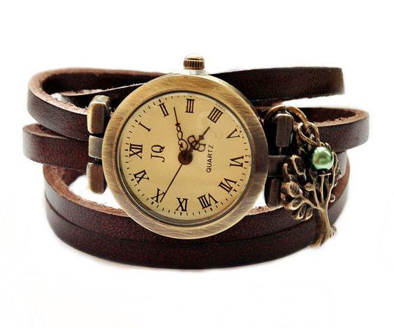 Wickeluhr Romantische Armbanduhr für Frauen von TankGirlShop