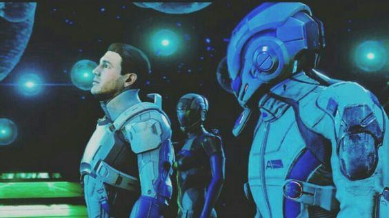 *Screams internally* Mass Effect Andromeda😍