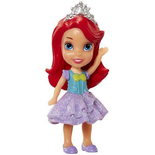"Disney Princess Mini Aurora 3.5/"" Posable Doll Sleeping Beauty with Glitter"
