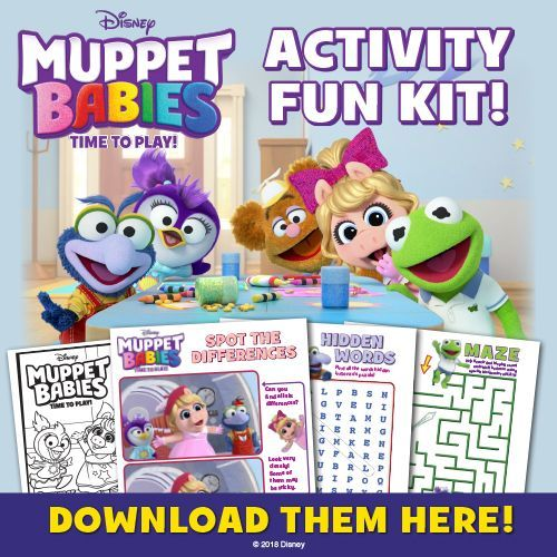 Free Muppet Babies Coloring Pages Disney Junior Muppet Babies Muppets Baby Birthday Party Activities