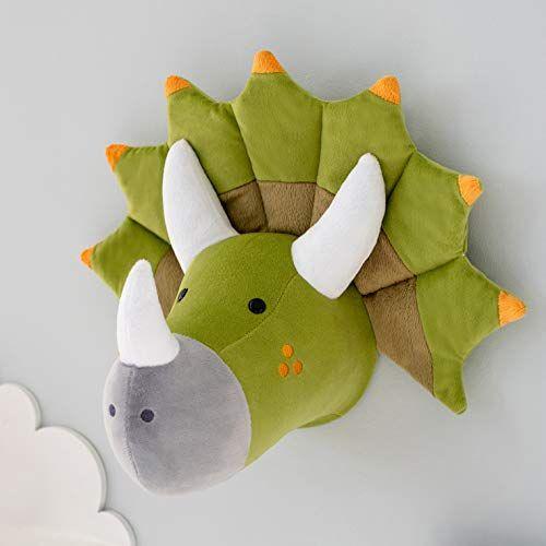 Amazon Com Dinosaur Stuffed Animal Head Wall Decor Dinosaur