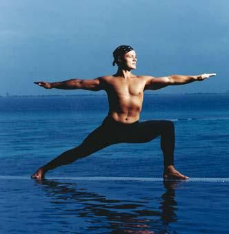 Baron Baptiste Loved and Pinned by www.downdogboutique.com to our Yoga community boards