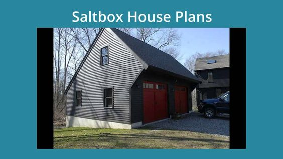 Pin one story saltbox house plans image search results on for Two story saltbox house plans