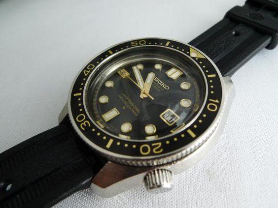 nice vintage seiko diver
