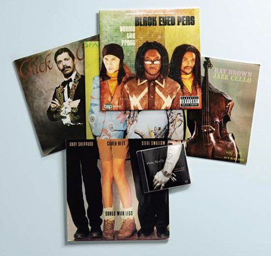 yago's web: Christian Marclay Body Mix Record Cover Collages
