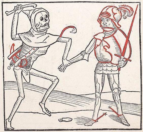 Heidelberger Totentanz Heidelberg: Heinrich Knoblochtzer, nicht nach 1488 GW M47257  Folio 9r