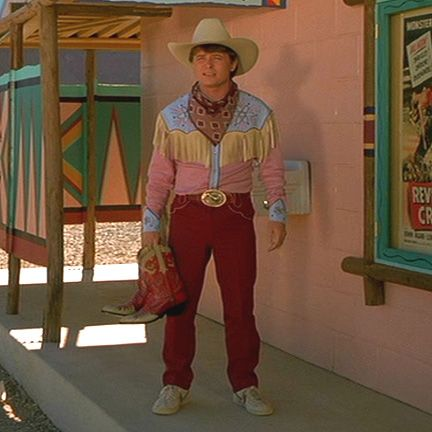 DON'T: Dress like Marty McFly. Remember how everyone laughed at him? Yeeeeaaahh...
