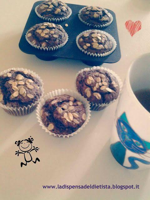 La dispensa del dietista: Muffins cioccolato e cocco