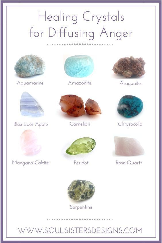 Healing Crystals For Diffusing Anger If You Throw Them And