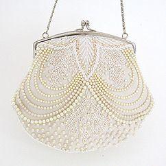 Beaded Pearl Bridal Bag