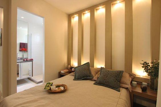 Suíte do Apartamento de 3 Dormitórios - 67,49m² Privativos Ways Vila Sônia